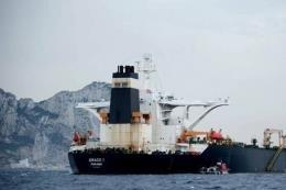 Tàu chở dầu Grace 1 của Iran sẽ rời Gibraltar bất chấp sức ép của Mỹ