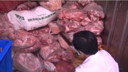 Đồng Nai phát hiện 2 container thịt lợn nhiễm dịch tả châu Phi