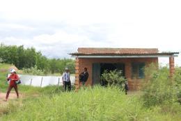 Lén lút trồng cây, xây nhà tạm trên đất dự án cao tốc Bắc - Nam