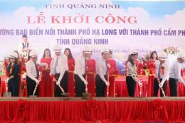 Đầu tư gần 1.400 tỷ đồng xây dựng đường bao biển nối Hạ Long và Cẩm Phả