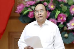 Thủ tướng Nguyễn Xuân Phúc chủ trì cuộc họp về ngân sách Nhà nước