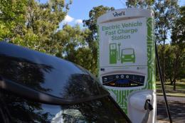 Australia đầu tư hơn 10 triệu USD xây các trạm sạc nhanh cho xe điện