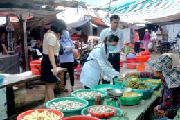 Đảm bảo an toàn vệ sinh thực phẩm ở các chợ truyền thống