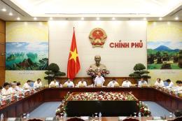 Thường trực Chính phủ họp về tình hình kinh tế - xã hội