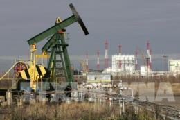 Giá dầu thô thế giới giảm xuống mức thấp nhất trong 3 tháng