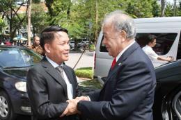 Tổng giám đốc TTXVN tiếp Tổng Bí thư Đảng Lao động Mexico