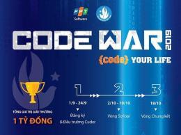 """Chính thức khởi động Cuộc thi lập trình """"Code War"""" năm 2019"""