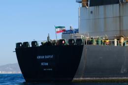 Siêu tàu chở dầu của Iran đang ở gần Syria