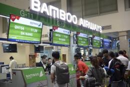 Bamboo Airways khai trương đường bay TP Hồ Chí Minh - Đà Nẵng