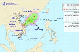 Áp thấp nhiệt đới (Kajiki) vẫn khả năng mạnh lên thành bão