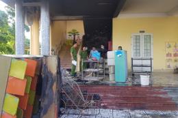 Xảy ra vụ cháy tại trường mầm non đang có 118 học sinh