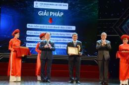 EVN và nhiều đơn vị trực thuộc nhận giải thưởng Chuyển đổi số Việt Nam