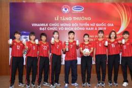 Vinamilk đồng hành cùng đội tuyển bóng đá nữ quốc gia