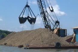 Cấp phép khai thác cát trở lại trên sông Đồng Nai