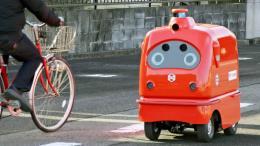 Nhật Bản phát triển robot giao hàng tự hành