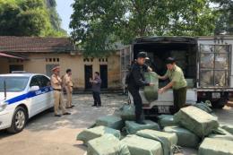 2,3 tấn nầm lợn nhập lậu bị chặn đứng tại Lạng Sơn