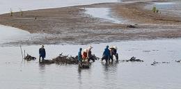 Cam kết hoàn thành giải tỏa lấn chiếm bãi triều vịnh Cửa Lục trong tháng 9