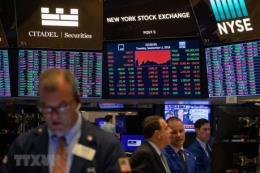 Thị trường chứng khoán châu Âu và Mỹ hầu như giảm điểm
