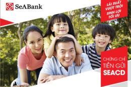 SeABank phát hành chứng chỉ tiền gửi ngắn hạn, lãi suất hấp dẫn