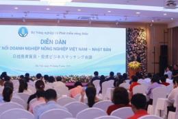 Kết nối doanh nghiệp nông nghiệp Việt Nam - Nhật Bản