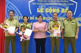 Cục Quản lý thị trường Kiên Giang chính thức kiện toàn bộ máy lãnh đạo