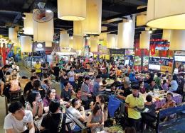 Mở lại chợ trong lòng đất ở Tp. Hồ Chí Minh