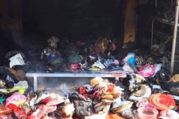 Hà Nội: Xảy ra cháy tại chợ Tó, huyện Đông Anh