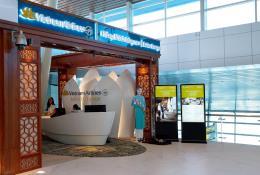 Vietnam Airlines khai trương phòng khách Bông Sen tại sân bay quốc tế Đà Nẵng