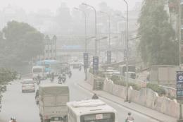 Ô nhiễm bụi mịn tại các thành phố lớn do nghịch nhiệt