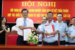 Đối thoại gỡ khó khăn cho doanh nghiệp xuất khẩu ở Lào Cai