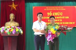 Tòa án Nhân dân tỉnh Hà Giang xin lỗi công khai người bị kết án oan
