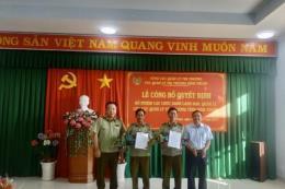 Bình Thuận thêm hai Phó Cục trưởng Quản lý thị trường mới