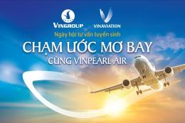 Vinpearl Air sắp tổ chức chuỗi ngày hội tuyển sinh tại 3 miền