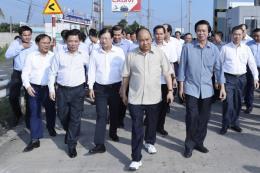 Thủ tướng thị sát tiến độ thi công cao tốc Trung Lương – Mỹ Thuận