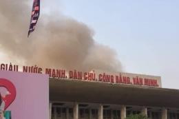 Xác định điểm xuất phát cháy ở Cung Văn hoá Lao động hữu nghị Việt Xô