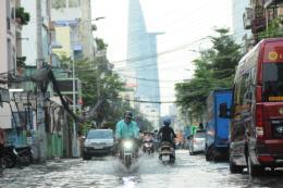 Đỉnh triều trên sông Sài Gòn - Đồng Nai xác lập kỷ lục mới 1,77 m