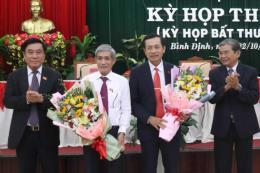 Ông Đoàn Văn Phi được bầu giữ chức Phó Chủ tịch HĐND tỉnh Bình Định khóa XII