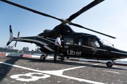Uber triển khai dịch vụ taxi bay cho người dân New York