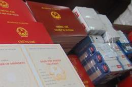Hà Tĩnh: Kỷ luật 4 cán bộ xã dùng bằng giả