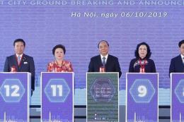 Động thổ dự án thành phố thông minh lớn nhất Việt Nam