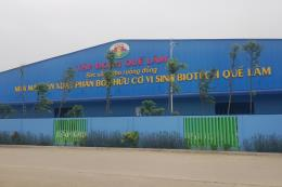 Tập đoàn Quế Lâm sẽ đầu tư nhà máy sản xuất vi sinh vật