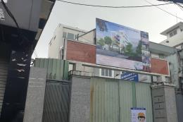 TP. HCM tạm dừng thi công công trình trường Tiểu học sau tai nạn