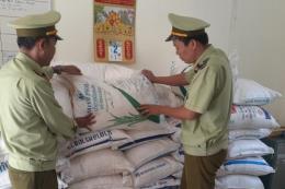 Thu giữ 6 tấn đường cát không có hoá đơn chứng từ hợp pháp