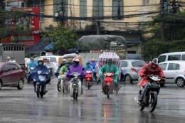 Dự báo thời tiết 10 ngày tới ở Hà Nội: Mưa dông rải rác bắt đầu từ 23/10