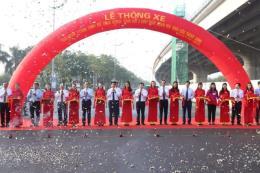 Thông xe giai đoạn 1 đường vành đai 3 dưới thấp, đoạn Mai Dịch - Cầu Thăng Long