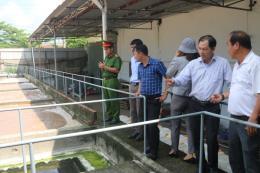 Kiểm tra việc bảo vệ môi trường của Công ty Hải sản Thu Trọng I