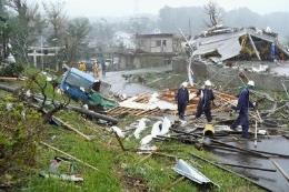 Siêu bão Hagibis: Có 2 thủy thủ Việt Nam trên tàu hàng Panama bị chìm