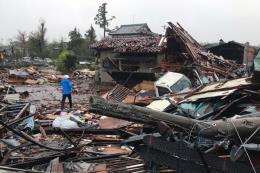 Siêu bão Hagibis: Nhật Bản ghi nhận lượng mưa lớn nhất  trong lịch sử