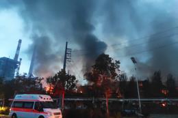 Nổ khí gas tại Giang Tô làm chục người thương vong