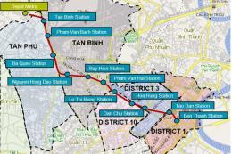 Di dời công trình hạ tầng kỹ thuật tuyến tàu điện ngầm số 2